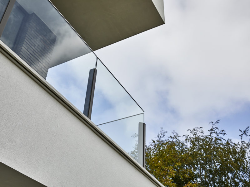 Glasbalustrade