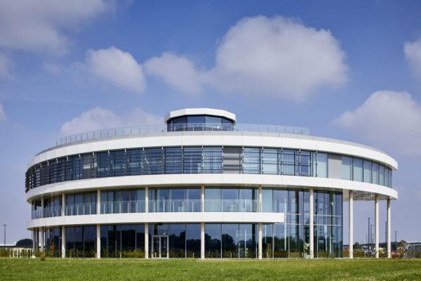 Droneport hoofdgebouw